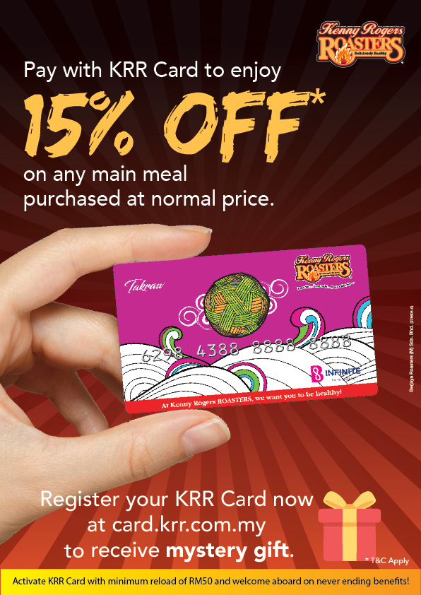 Register Your KRR Card Now!